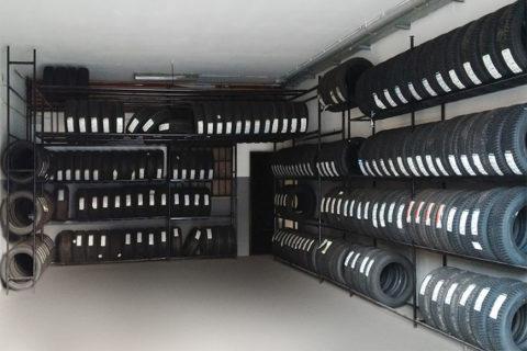 Servizio deposito pneumatici gratuito